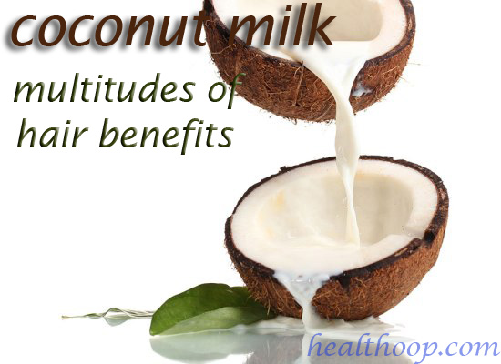 coconut milk for hair grown