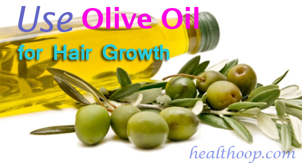 olive oil for hair growth