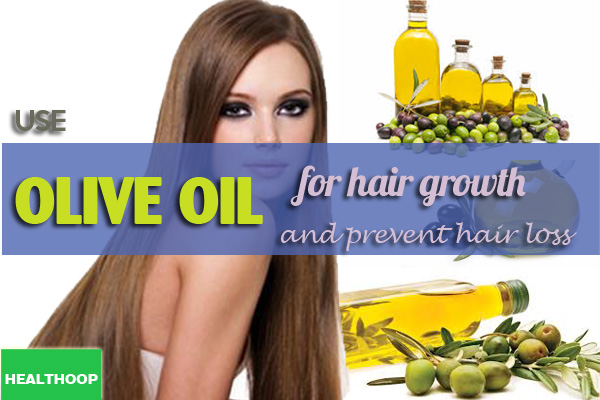 olive oil for hair growth and prevent hair loss