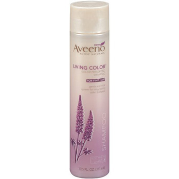 Aveeno Living Color Color Preserving Shampoo for fine hair