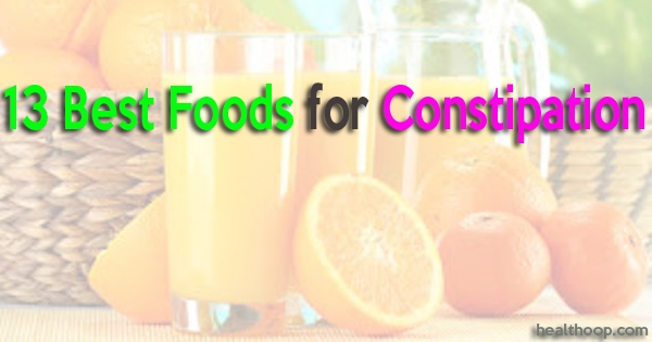 Best Foods for Constipation
