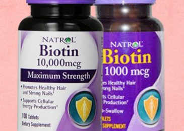 natrol biotin for healthy hair growth