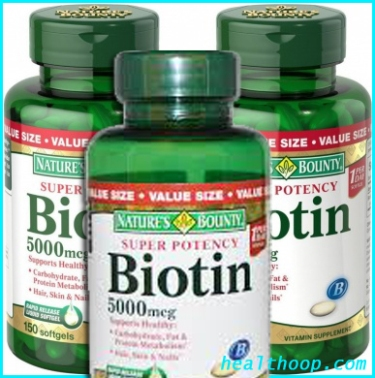 Nature's Bounty Super Potency Biotin copy