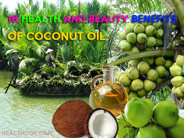 16 Health And Beauty Benefits of Coconut Oil